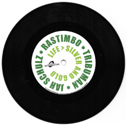 Jah Schulz ft. Rastimbo -  Silver and Gold / Dub (Railroad Records) 7""